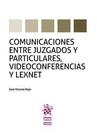 COMUNICACIONES ENTRE JUZGADOS Y PARTICULARES, VIDEOCONFERENCIAS Y LEXNET.