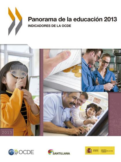 PANORAMA DE LA EDUCACION 2013.