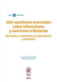 160 CUESTIONES ESENCIALES SOBRE INFRACCIONES Y SANCIONES TRIBUTARIAS. NORMATIVA, COMENTARIOS, J
