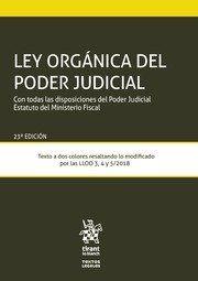 LEY ORGANICA DEL PODER JUDICIAL 2019