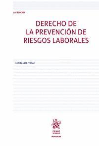 DERECHO DE LA PREVENCIÓN DE RIESGOS LABORALES.