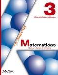 MATEMÁTICAS, 3 ESO (ANDALUCÍA, CASTILLA-LA MANCHA)