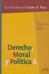 DERECHO MORAL Y POLITICA II
