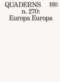 QUADERNS N.270: EUROPA, EUROPA
