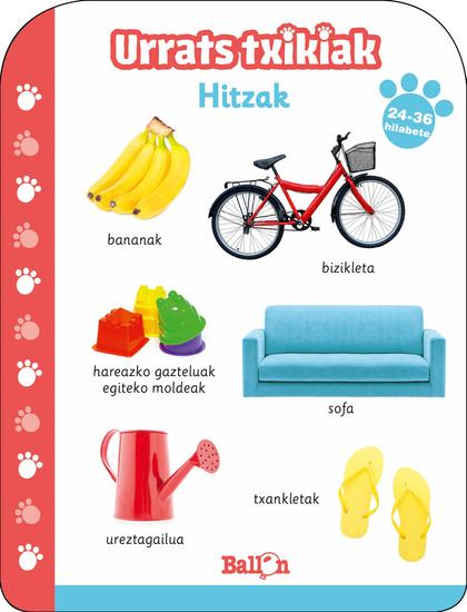URRATS TXIKIAK - HITZAK 24-36 HILABETE