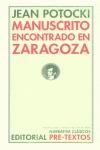MANUSCRITO ENCONTRADO EN ZARAGOZA