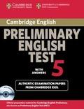 CAMBRIDGE PREL ENG TST 5 SF ST PK