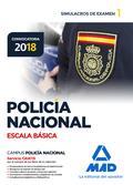 POLICÍA NACIONAL ESCALA BÁSICA. SIMULACROS DE EXAMEN 1.