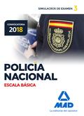 POLICÍA NACIONAL ESCALA BÁSICA. SIMULACROS DE EXAMEN 3.