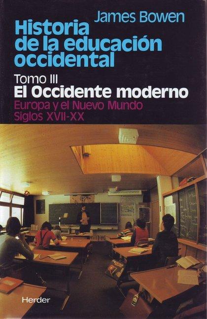 HISTORIA DE LA EDUCACION OCCIDENTAL VOL.III
