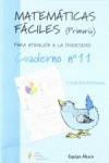 MATEMÁTICAS FÁCILES 11, EDUCACIÓN PRIMARIA