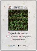 TOPONIMIA NAVARRA. VIII. CUENCA DE PAMPLONA. PAMPLONA/IRUÑA.