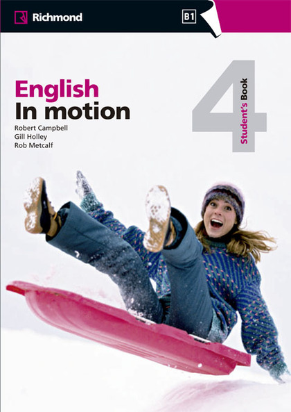 ENGLISH IN MOTION 4 STUDENT´S BOOK RICHMOND.
