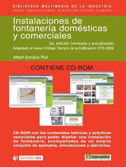 INSTALACIONES DE FONTANERIA DOMESTICAS Y COMERCIALES.2ª EDICION