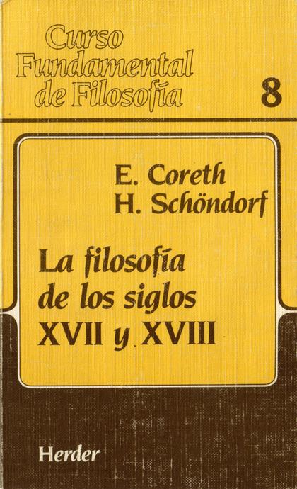 FILOSOFIA S.XVII-XVIII