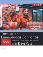 TÈCNICO EN EMERGENCIAS SANITARIAS. SERMAS.(TEST).