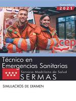 TECNICO EMERGENCIAS SANITARIA SERVICIO MADRILEÑO SIMULACRO