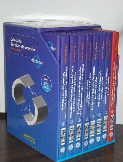 COLECCION COMPLETA TÉCNICOS DE SERVICIO (8 VOLÚMENES + 8 DVDS).