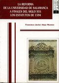 REFORMA UNIVERSIDAD DE SALAMANCA FINALES S. XVI : ESTATUTOS DE 1594