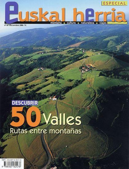 DESCUBRIR 50 VALLES, EUSKAL HERRIA