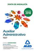 AUXILIAR ADMINISTRATIVO DE LA JUNTA DE ANDALUCÍA. TEST