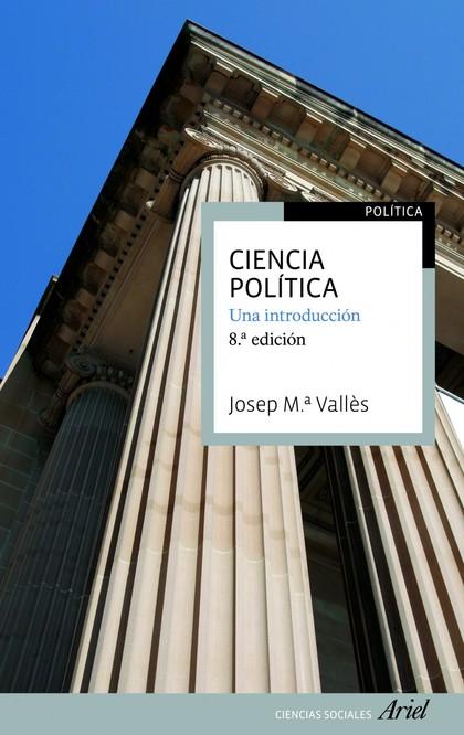 CIENCIA POLÍTICA. UNA INTRODUCCION