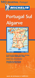 MAPA REG. PORT-PORTUGAL SUR - ALGARV
