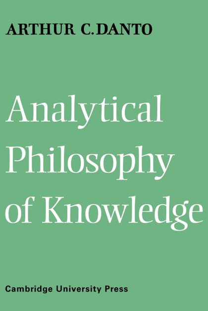 ANALYTICAL PHILOSOPHY OF KNOWLEDGE