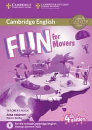 FUN FOR MOVERS (4 EDITION) TEACHER`S BOOK WITH DOWNLOADABLE AUDIO