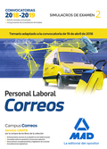 PERSONAL LABORAL DE CORREOS Y TELÉGRAFOS. SIMULACROS DE EXAMEN VOLUMEN 2