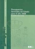 PRESUPUESTOS GENERALES DEL ESTADO PARA EL AÑO 2008