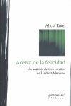 ACERCA DE LA FELICIDAD:UN ANÁLISIS DE TRES ESCRITOS DE HERBERT MARCUSE