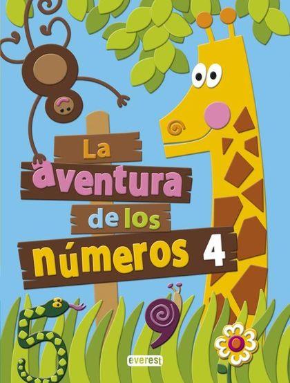 PROYECTO LA AVENTURA DE LOS NÚMEROS, EDUCACIÓN INFANTIL. CUADERNO 4