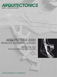 ARQUITECTURA 2000: PROYECTOS, TERRITORIOS Y CULTURAS