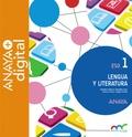 LENGUA Y LITERATURA 1. ESO. ANAYA + DIGITAL..