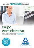 GRUPO ADMINISTRATIVO DEL SERVICIO ARAGONÉS DE SALUD (SALUD-ARAGÓN). TEMARIO ESPE