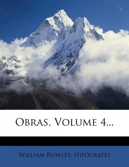 OBRAS, VOLUME 4...