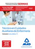 TÉCNICO EN CUIDADOS AUXILIARES DE ENFERMERÍA DEL SERVICIO DE SALUD DE LA COMUNID