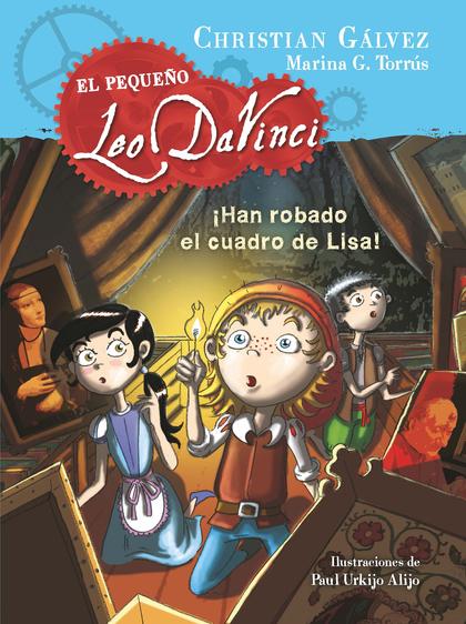 ¡HAN ROBADO EL CUADRO DE LISA! (EL PEQUEÑO LEO DA VINCI 2).