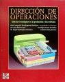 DIRECCION OPERACIONES(ASPECTOS TACTICOS Y OPERATIVOS EN LA PRODUCCION