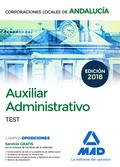 AUXILIAR ADMINISTRATIVO 2018 CORPORACIONES LOCALES ANDALUCÍA.