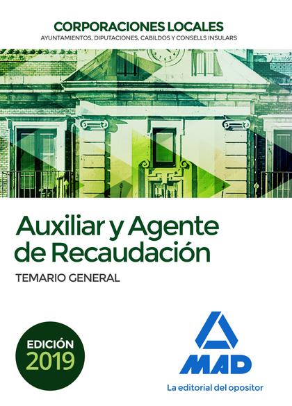 TEMARIO GENERAL AUXILIAR Y AGENTE DE RECAUDACIÓN