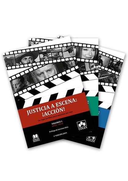 TRILOGÍA. JUSTICIA A ESCENA: ¡ACCIÓN!. EDICIÓN COLECCIONISTA. TRES LIBROS. 21 AUTORES. UN VIAJE