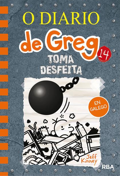 O DIARIO DE GREG 14. TOMA DESFEITA.