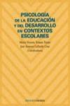 Psicología de la educación y del desarrollo en contextos escolares