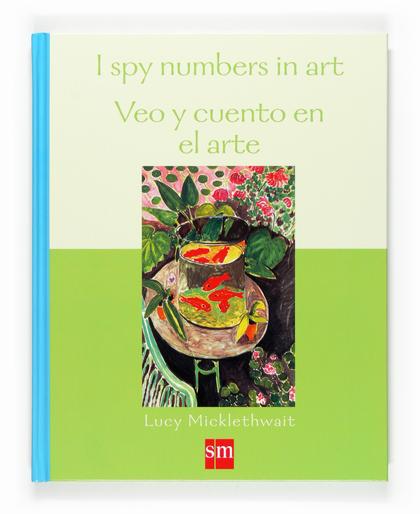 I SPY NUMBERS IN ART = VEO Y CUENTO EL ARTE