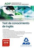 TEST DE CONOCIMIENTOS DE INGLÉS. ADMINISTRADOR DE INFRAESTRUCTURAS FERROVIARIAS.