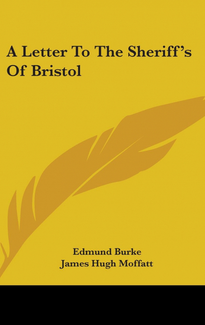 A LETTER TO THE SHERIFF´S OF BRISTOL