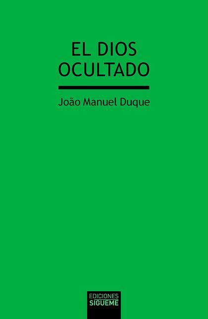 EL DIOS OCULTADO.