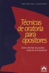 TÉCNICAS DE ORATORIA PARA OPOSITORES